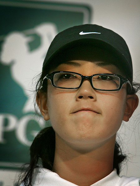 Days after turning pro and celebrating her 16th birthday, Wie was disqualified at the 2005 Samsung World Championship at Bighorn Golf Club. She was deemed to have made an illegal drop after hitting a drive into a bush, making the scorecard she signed incorrect.
