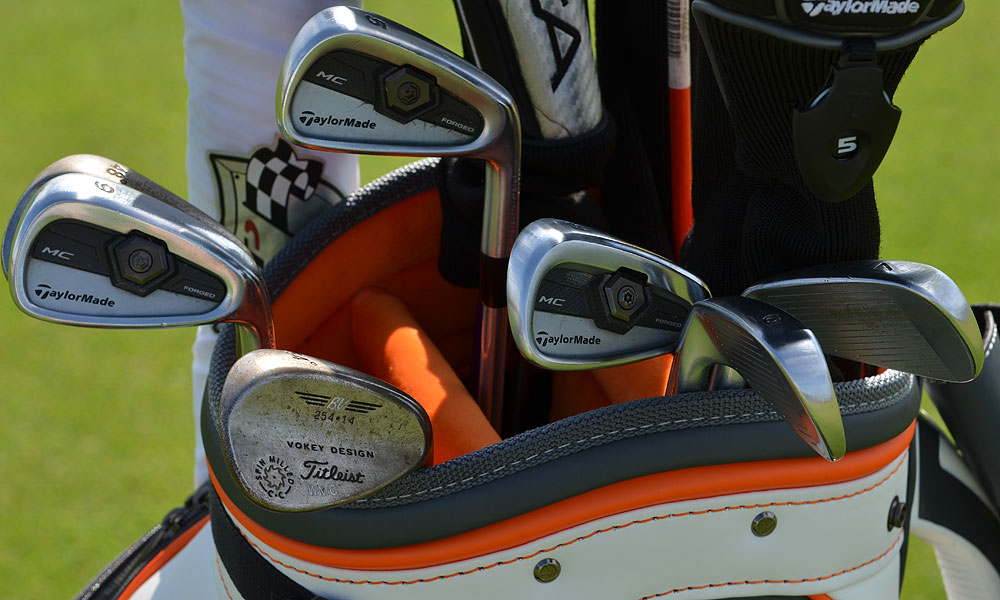 William McGirt carries TaylorMade Forged Tour Preferred MC irons and Titleist Vokey Design Spin Milled wedges.