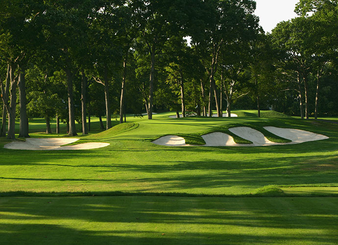 6. Winged Foot Golf Club (East Course), Mamaroneck, N.Y., 1923:                       Neither as long nor as tough as its illustrious sibling, the equally attractive East Course is preferred by many course connoisseurs for its superior pacing and variety. No stranger to big-time events, the East witnessed Roberto DeVicenzo claim the very first U.S. Senior Open here in 1980.