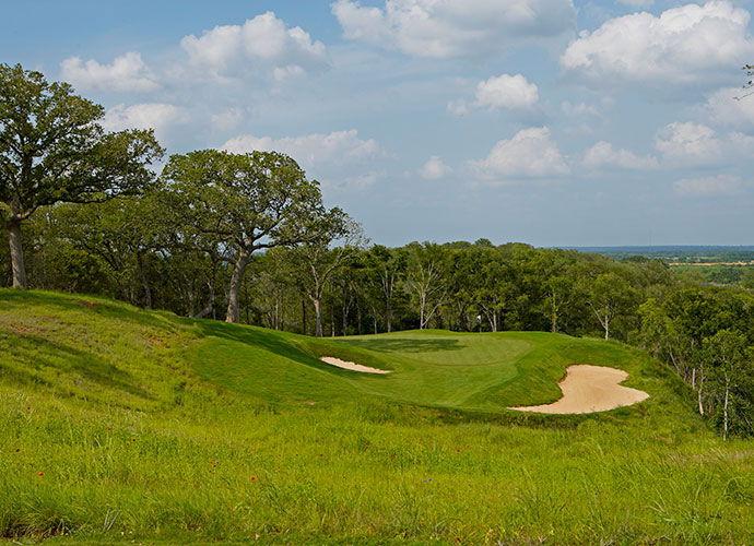 15. Arthur Hills: Among the world's most prolific architects, Hills finally touched down in Texas near Austin with his 2006 design of Wolfdancer Golf Club at the Hyatt Lost Pines Resort, where he solved the puzzle of how to route golf holes over three distinct landforms, rolling prairie land, a forested ridgeline and a valley populated with pine and pecan trees.