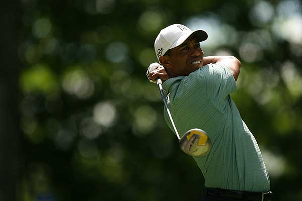 No. 1                       Tiger Woods, United States                        Driver: Nike SasQuatch Tour 460 (8.5°)                        Average Drive Distance: 302.4 yards (11th)                        Driving Accuracy: 59.83% (T133)                        Total Driving Rank: T31