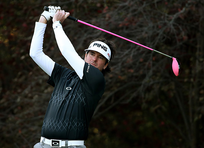 Steady rounds of 70, 70, 69 and 70 were good enough for T3 for Bubba Watson as players battled uncharacteristically wet and windy conditions in Southern California.