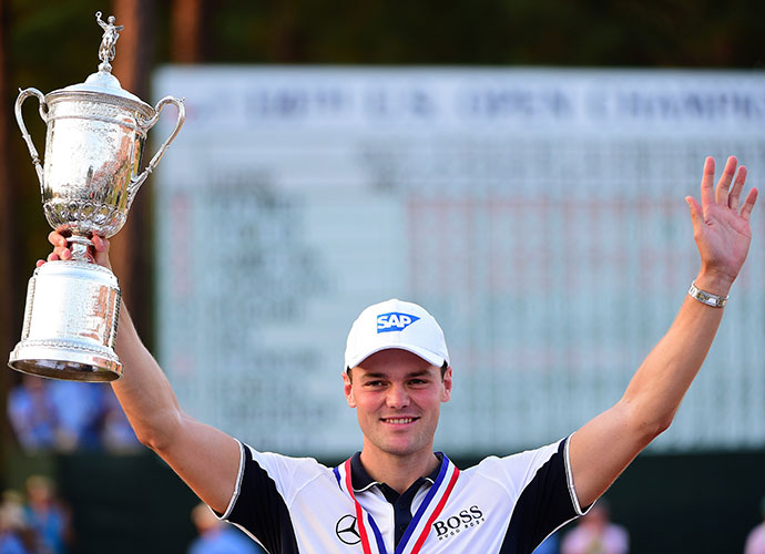 Martin Kaymer of Germany won the 2014 U.S. Open in dominant fashion, closing with a 1-under 69 on Sunday to secure an eight-stroke, wire-to-wire victory.