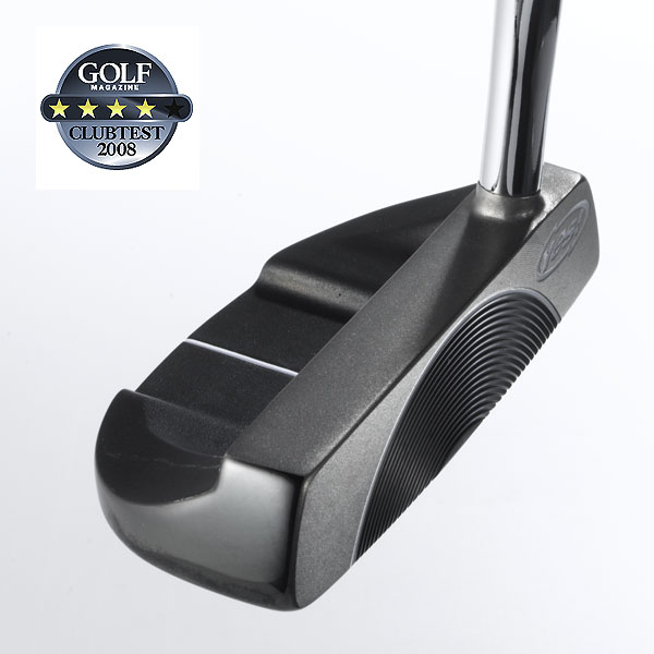 "Yes! C-Groove Valerie                           $149, steel                            yesgolf.com                                                       We tested: 34"" and 35"" in steel shaft                           Company line: ""This face-balanced, cavity-back head is made from 304-stainless steel. The C-Groove's concentric edges have a 20-degree upward slant. On contact, these edges grip the ball and lift it out of its resting position and impart an over-the-top rolling motion.""                                                       Our Test Panel Says:                            PROS: Gets the ball rolling quick; it takes the fear out of putting; count on sniffing somewhere around the hole on center or slightly off-center contact; soft impact feel, even on longer, more forceful strokes; heavier head mass; ball starts rolling quickly so distance control takes little effort; ideal for square-to-square strokes; weighting encourages a smooth rhythmic stroke; consistent distance across the face.                                                       CONS: Feedback to the hands is too muted; some testers question the two-tone look and usefulness of the thin, white sight aid; misses feel too similar to center hits.                                                       ""Valerie whispers feedback rather than shouting it out."" — Dave Lucarelli (15)"