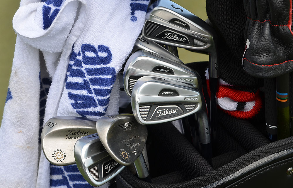 Zach Johnson uses Titleist's Forged 712 AP2 irons.
