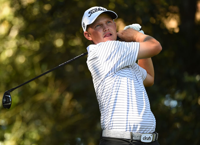 PGA Tour rookie Zachary Blair shot a 69 and will join Bae in the final group on Sunday.