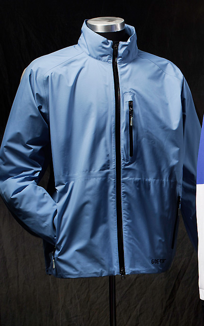 Zero Restriction Featherweight Qualifier                       Expansion back pleats provide freedom of movement, and a two-way waterproof front zipper keeps the jacket flat while you're putting. The Gore-Tex Paclite fabric promises waterproof breathability.                        $280; zerorestriction.com