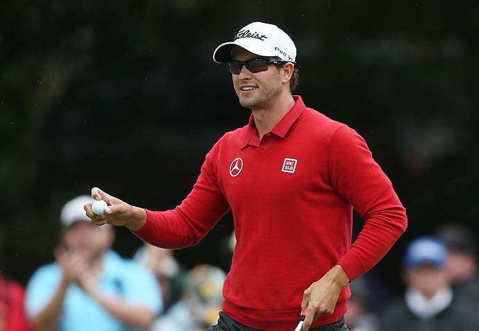 """You couldn't ask for a better person to be the face of this sport in this country.''                       --Australian golf fan Christopher Romeo on Adam Scott's impact on golf Down Under."