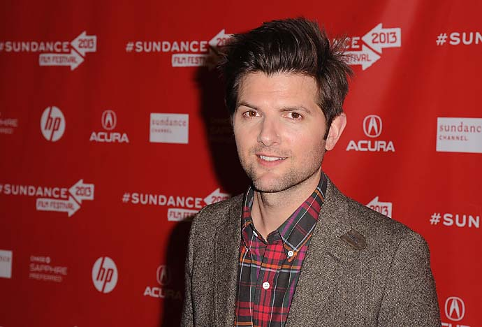 """Hey, Adam. You know what's really under par? Your acting.""                       --Parks and Recreation actor Adam Scott on jokes he's heard since Adam Scott won the Masters."