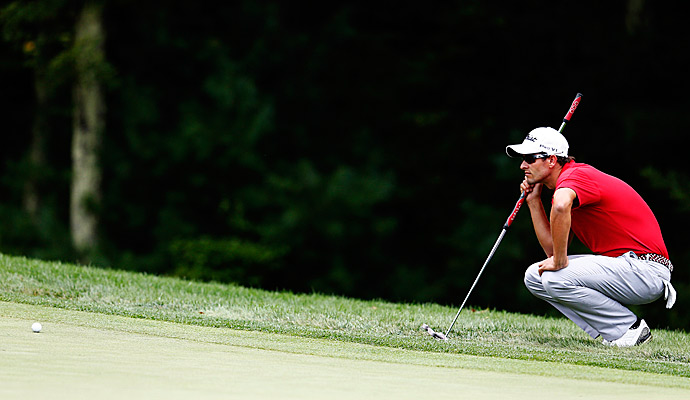 Scott won the first playoff event -- the Barclays -- last week.