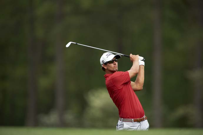 """Adam Scott: A+                           Cameron Morfit says:Unassuming, 32-year-old matinee idol refused to go away on the weekend and showed he had learned the lessons of his T2 at Augusta in 2011 and his four-bogey finish at the 2012 British Open. His gorgeous, skyscraping tee shots found the fairway, and his must-have birdie putts finally found the hole. Extra credit: Scott's, """"C'mon, Aussie!"""" at the end of regulation was as animated as we've ever seen him."""