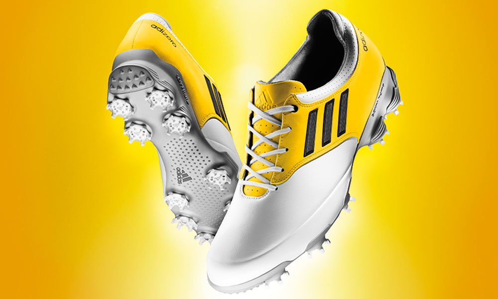 The new Adizero Tour weighs in at a mere 10.6 ounces, 38 percent lighter than the TOUR360 ATV.
