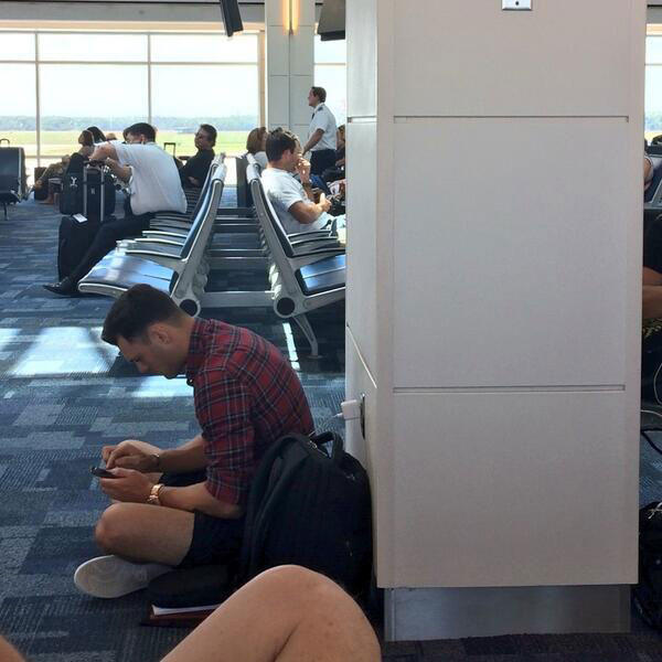 No. 11. Even after that $1.8 million deposited into his back account for winning the 2014 Players, Kaymer prefers to sit on the floor at the airport.