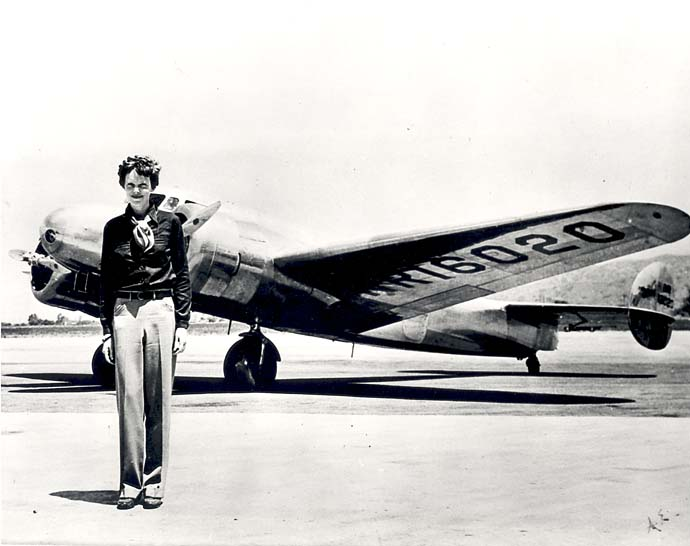 Amelia Earhart noun a tee shot that looks great taking off and then just disappears