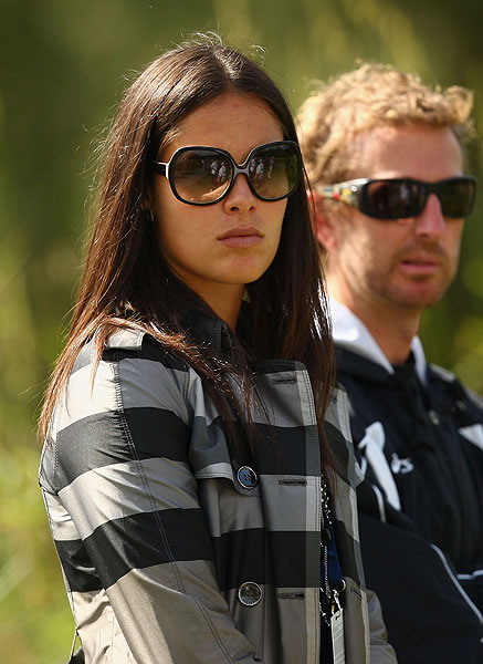Perhaps Scott, who hasn't finished in the top ten since the Sony Open, played so well because his current girlfriend, tennis player Ana Ivanovic, was in attendance.