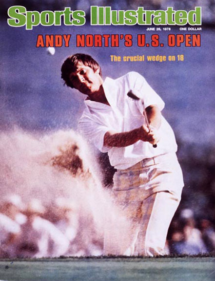 Andy North wins the 1978 U.S. Open at Cherry Hills, June 26, 1978