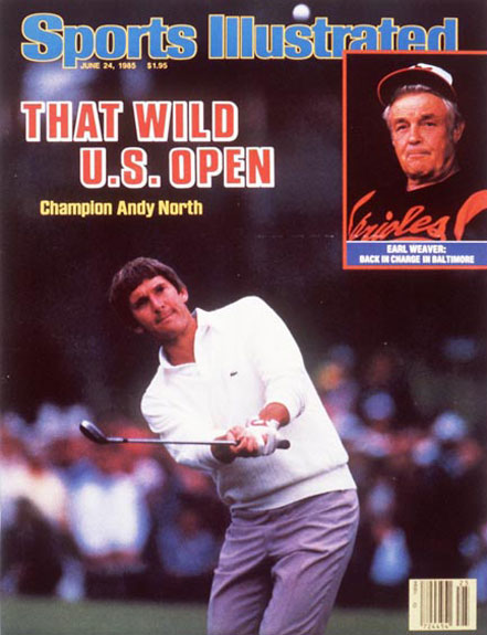Andy North wins the 1985 U.S. Open at Shinnecock Hills, June 24, 1985