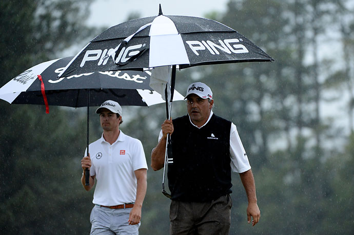 """Golf is a sport and not a war. Whoever I play with, if he hits a good shot, I tell him good shot.""                           --Angel Cabrera on praising Adam Scott's play during their sudden-death playoff at the 2013 Masters."
