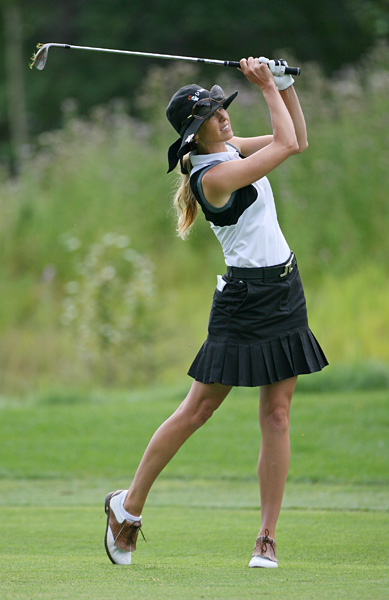 Rawson has yet to win on the LPGA, but she did lead the 2009 Canadian Open after shooting a course-record 64 in the first round. She finished tied for 18th.