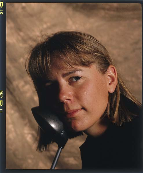 Annika Sorenstam portrait for Sports Illustrated in February 1996.