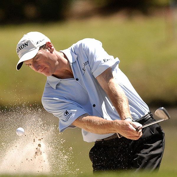 Jim Furyk finished at even par.