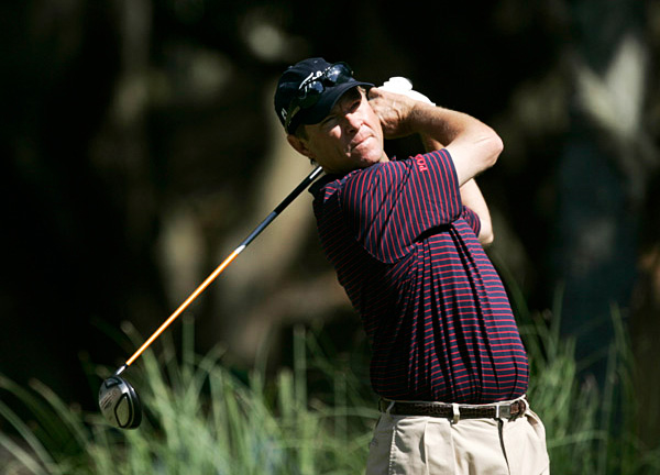 Davis Love III, a five-time champion at Harbour Town, shot a two-under 69, but he is 13 shots back of Els.