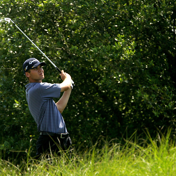 Sean O'Hair, the first round leader, bogeyed three of the last four holes to drop out of contention.
