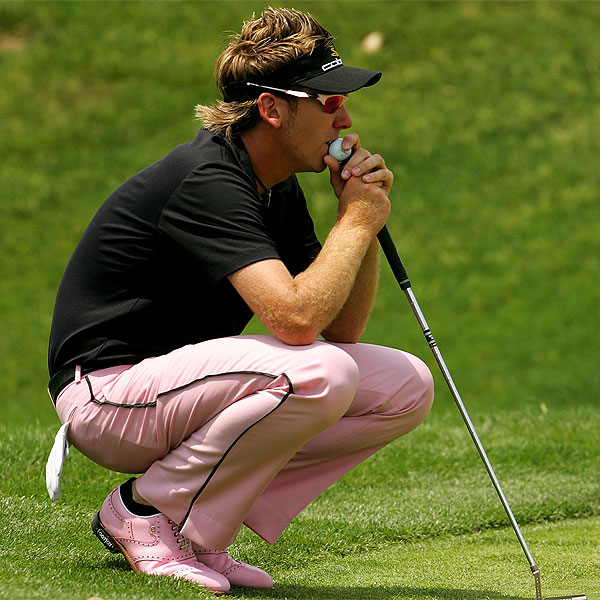 Ian Poulter finished tied for third with Mickelson, Jerry Kelly and Rory Sabbatini.