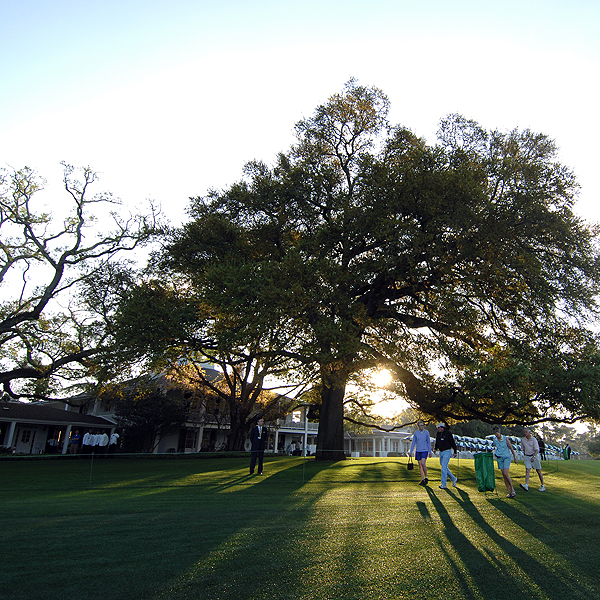 The clubhouse was built in 1845 when Augusta National was still an indigo plantation.