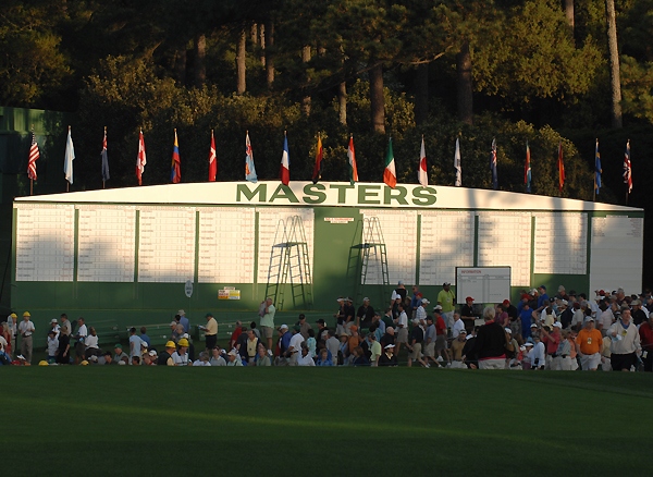 Of the 107 players that qualified for the Masters, 97 are expected to play in the first round.