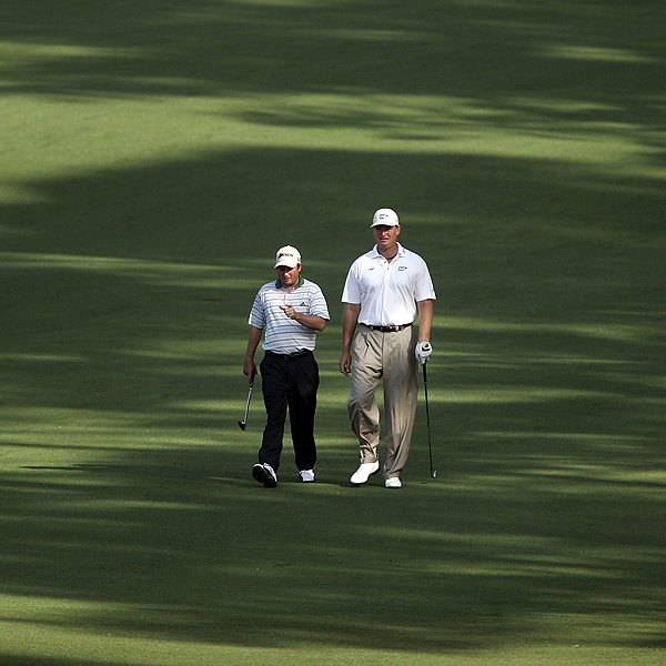 Fellow South Africans Ernie Els and Tim Clarke will both be looking for their first win at Augusta this week.
