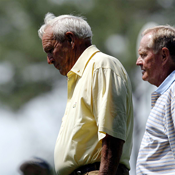 From 1962-1966, only Nicklaus or Palmer won the Masters Tournament. Palmer won in 1962 and 1964. Nicklaus won in 1963, 1965 and 1966.