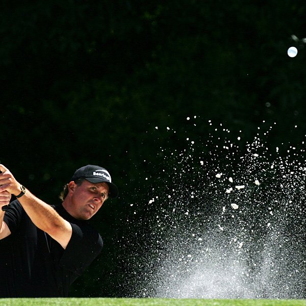 With a 4-over 76, Mickelson tied his highest score at Augusta.