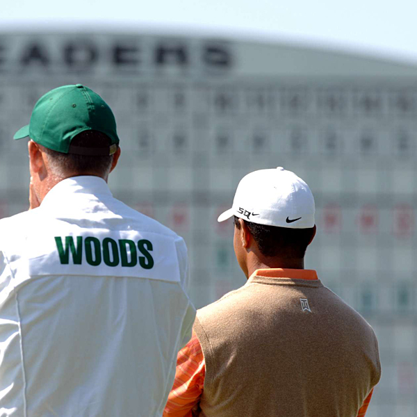 Woods isn't one of the leaders heading into Saturday, but he's still in contention.