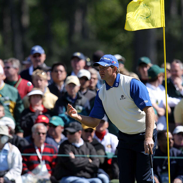 Retief Goosen shot a 69 on Sunday, but it was only good enough for second place.
