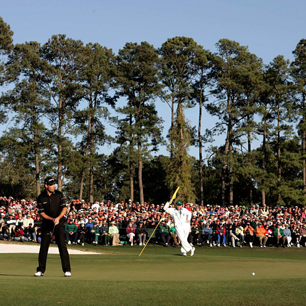 Ireland's Padraig Harrington finished tied for seventh with Stuart Appleby at five over par.