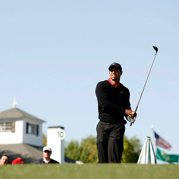 After bogeys on the 6th and 10th, Woods didn't seem like much of a threat to win.