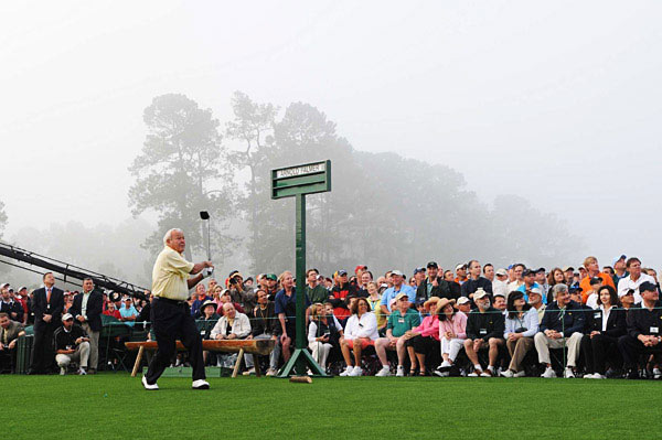 Palmer won his first Masters 50 years ago.