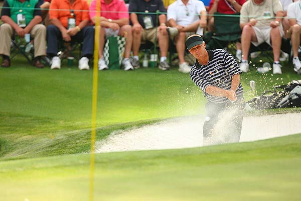 Sandy Lyle, the 1988 Masters champion, is at even par.