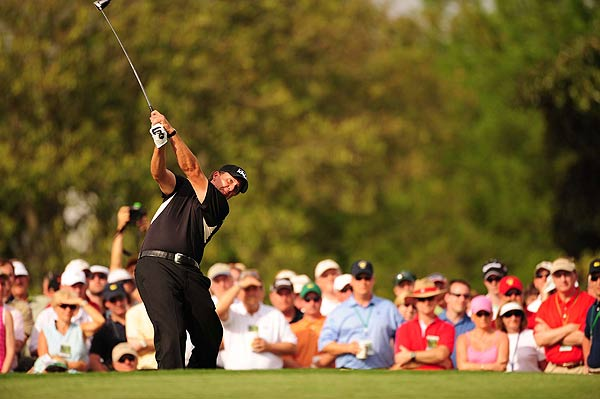 Mickelson shot 71 to finish at one under par.