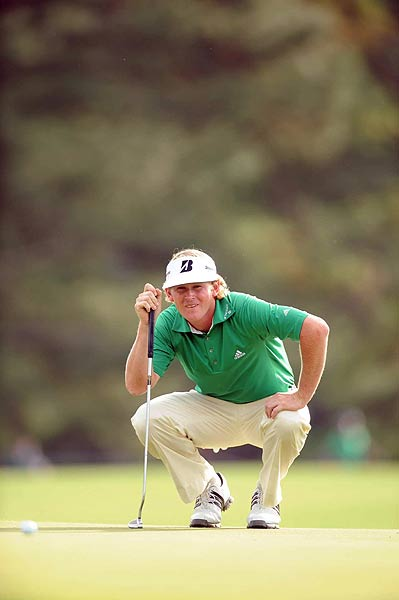 Despite a bogey on the final hole, Brandt Snedeker was one stroke off the lead at the end of the first round.