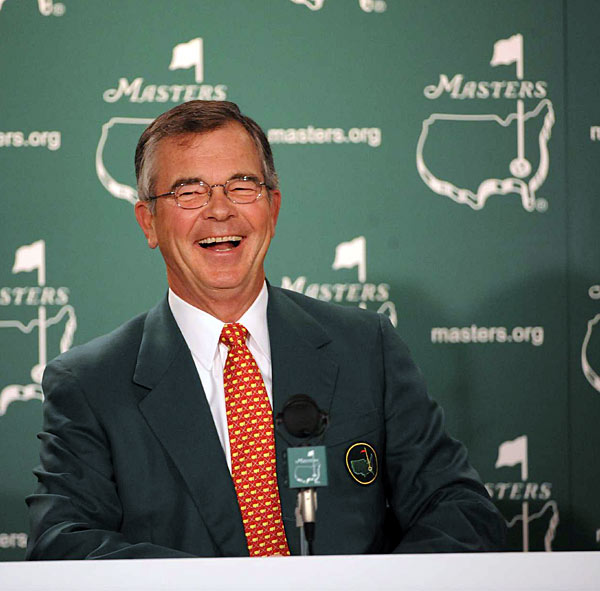 Quotes of the Day: Wednesday                       Q. Tiger mentioned yesterday that he is not playing in (the Par-3 contest); is that any bother to you guys at all or what's your feeling?                                              Chairman Billy Payne: No. I think all golfers choose to prepare differently for the Masters Tournament. We are delighted that the overwhelming majority are playing. And I will tell you that I have instructed them to save for the future those little caddie uniforms in (Tiger's daughter's) size.