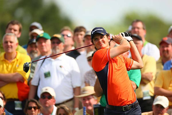 Justin Rose's second round (78) was 10 strokes worse than his first round (68). He dropped to two over par.