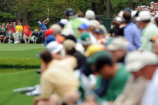 Five birdies in his third round left 2007 Masters Champion Zach Johnson at two under par.
