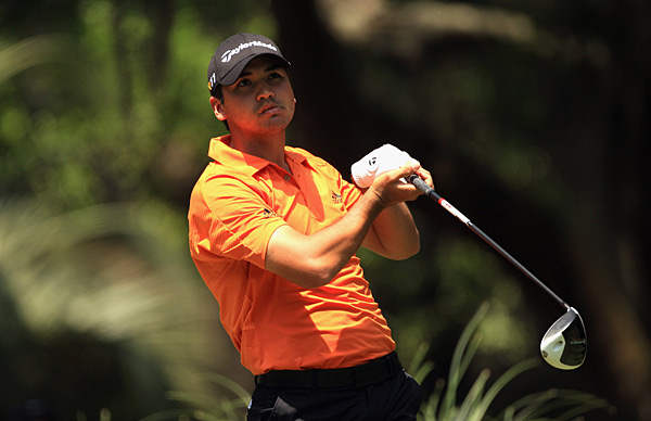 Jason Day started off hot but cooled down as the round dragged on.