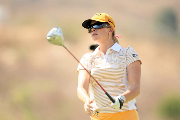 Paula Creamer shot a one-under 72.