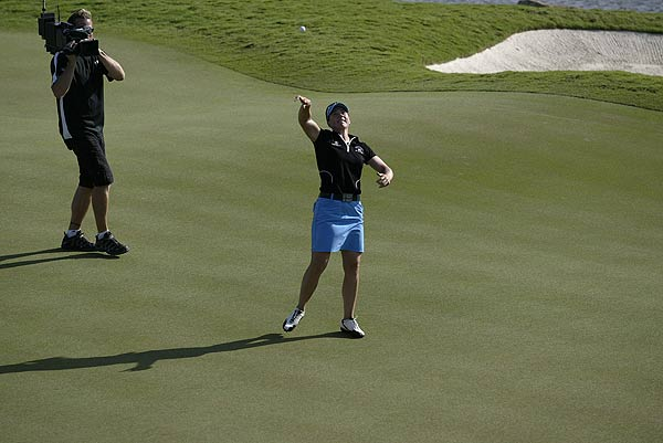 Sports Illustrated's best images from the 2008 Stanford International Pro-Am                                                      A par was all Annika Sorenstam needed to win her playoff against Paula Creamer Sunday at the 2008 Stanford International Pro-Am.