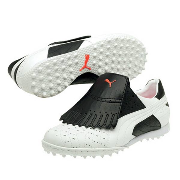 Puma Lynks Women's Golf Shoe                       These shoes from Puma can be worn on or off the course. The soles are a nod to Puma's SmartQuill technology, which will allow for better traction while swinging. They are available in several colors.                                               $80.00 on store.puma.com.
