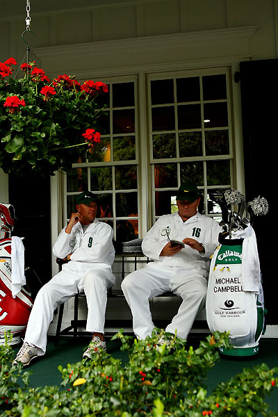 Who's the                             biggest gossip                             on Tour?                             Caddies: 27%                             Sharon (Fred) Funk: 15%                             Kimberly (Brian) Gay: 15%                             Charles Warren: 11%                             Other receiving multiple votes:                             Joe Ogilvie, Amy (Rory) Sabbatini,                             Rory Sabbatini, Jeff Sluman