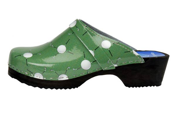 Cape Clogs                       After her round, mom will love to slip on these comfortable and lightweight clogs. They have a wood sole and non-skid bottom and are available in sizes 5-11.                        $85.00 on store.capeclogs.com
